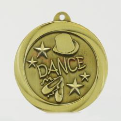 Econo Dance Medal 50mm Gold