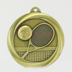 Econo Tennis Medal 50mm Gold
