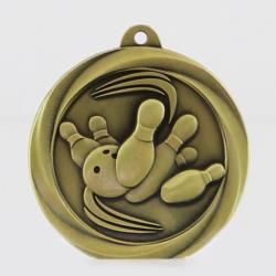 Econo Tenpin Medal 50mm Gold