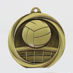 Econo Volleyball Medal 50mm