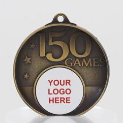 Personalised 150 Games Medal 50mm