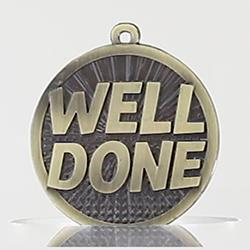 Well Done Medal 50mm