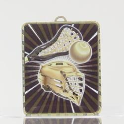 Lynx Medal Lacrosse 75mm