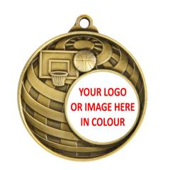 Personalised Basketball Medals