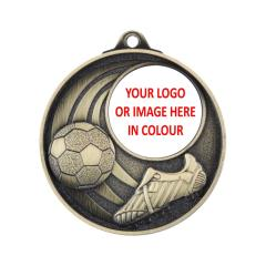 Personalised Soccer Medals