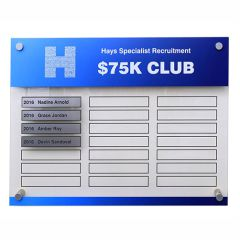 Hockey Honour Boards