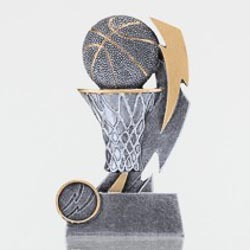 Basketball Shazam Silver 130mm