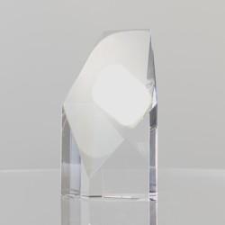 Wide Pentagon by Rikaro crystal 65mm