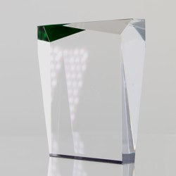 Acrylic Prism Green 125mm