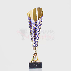 Marvellon Cup Blue/Gold 320mm
