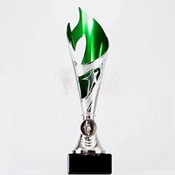 Flamenco Cup Silver/Green 260mm