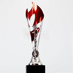Flamenco Cup Silver/Red 260mm