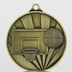 Sunrise Basketball Medal