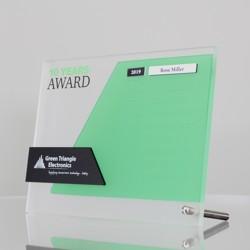 Aspire Desk - Custom Free-Standing Desk Honour Board - Landscape