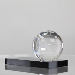 World Globe on black base