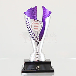 Spirit Cup Silver/Purple 180mm