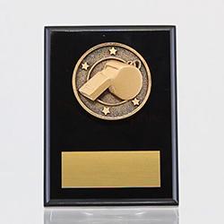 Spartan Whistle Black Plaque 150mm