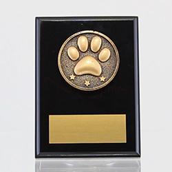 Spartan Pet Black Plaque 150mm