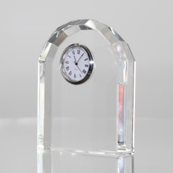 Crystal Domed Clock
