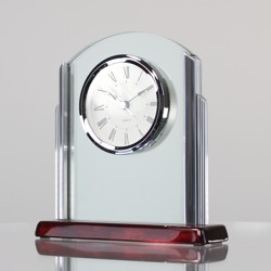 Chrome Arch Clock