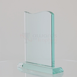 Jade Glass Top Curve 200mm