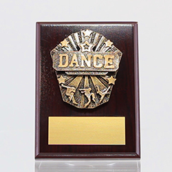 Cosmos Dance Mahogany Plaque 150mm
