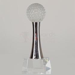 Crystal & Chrome Golf 175mm