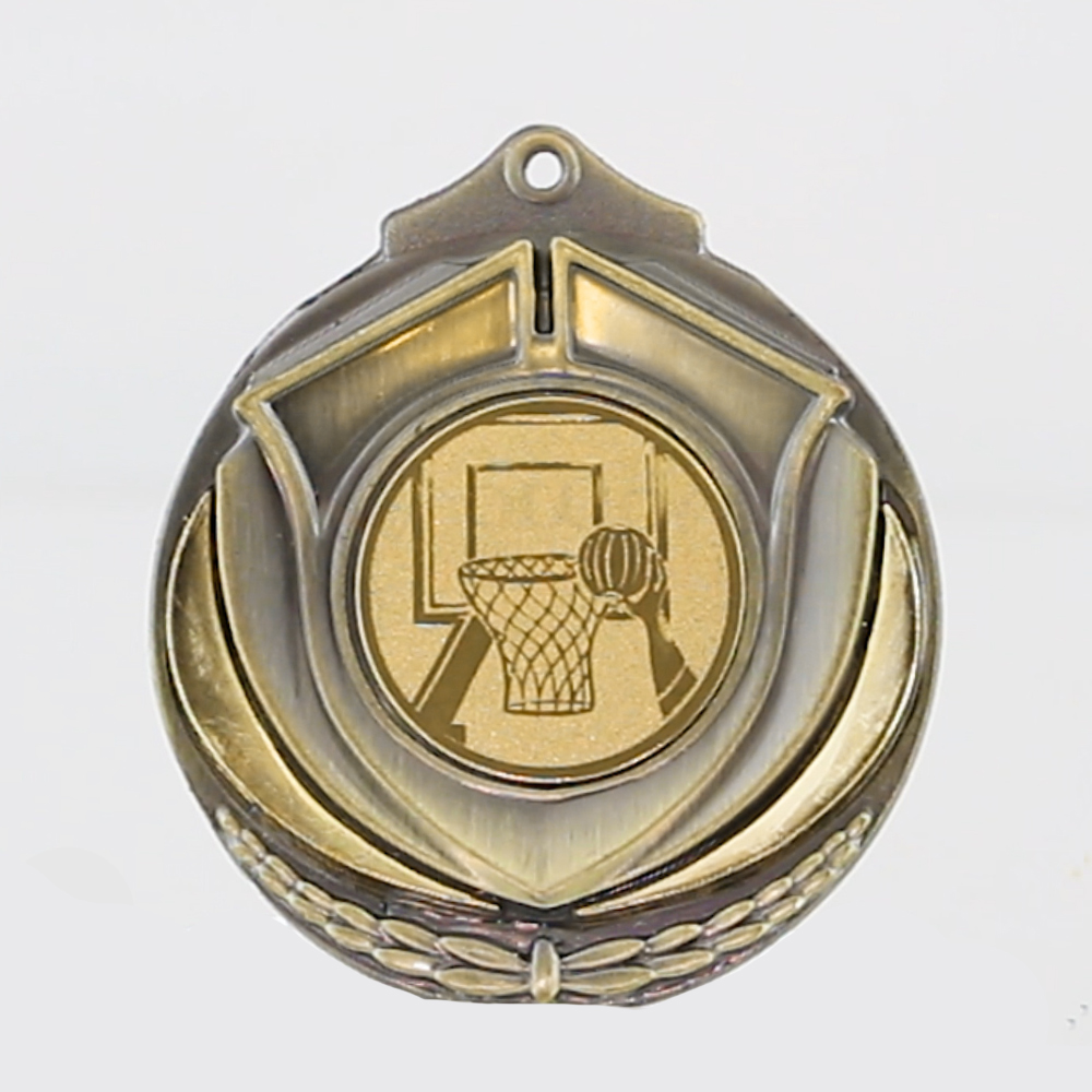 Two Tone Medal - Basketball