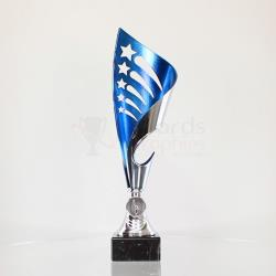 Olympia Cup - Silver/Blue 305mm