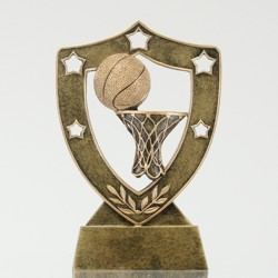 Basketball Shield 130mm