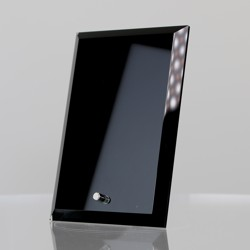 Black Glass Rectangle