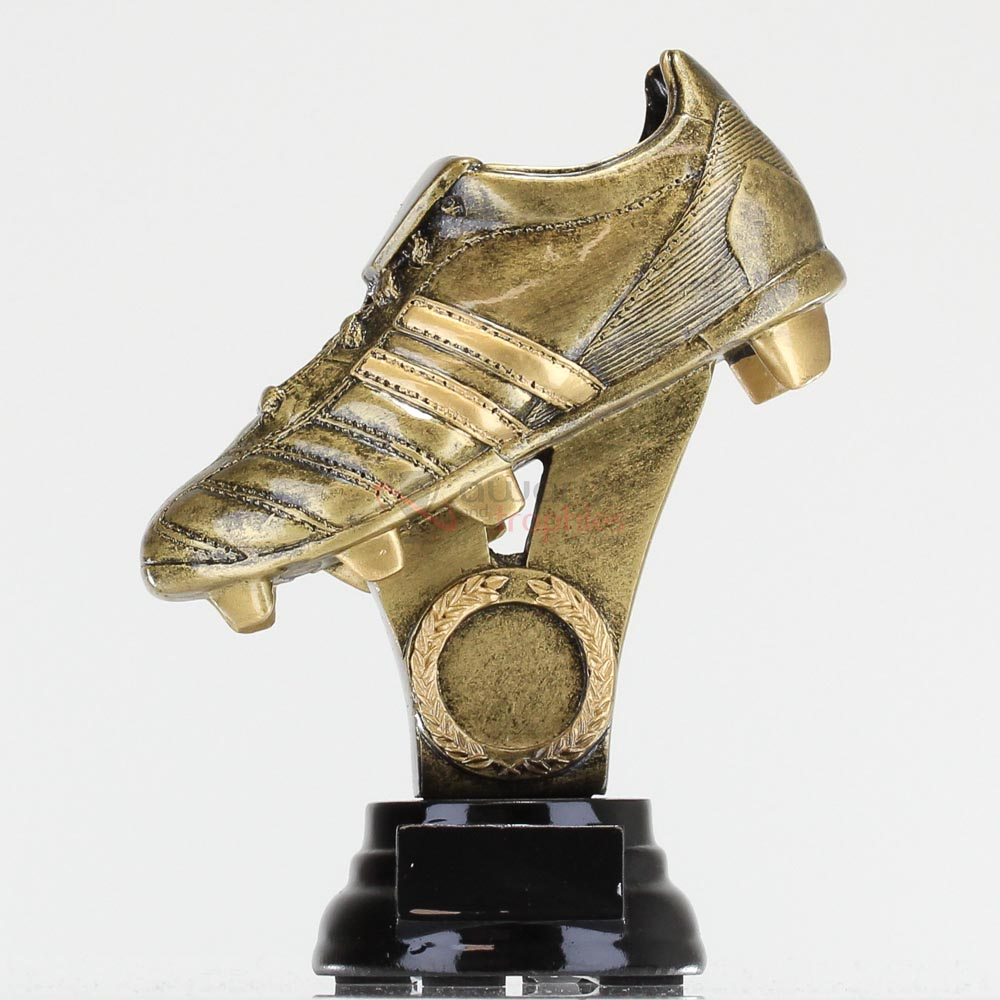 Gold Boot on Stand 240mm (lge)