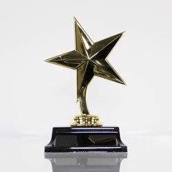 Star Figurine on Base 150mm