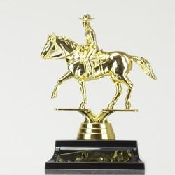 Cowboy figurine on base 155mm