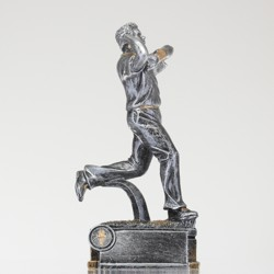 Bowler Silver Figure 210mm