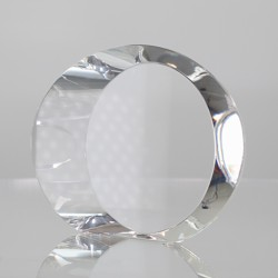 Infiniti Clear Crystal Oval