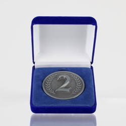 2nd Place Silver Coin in Case