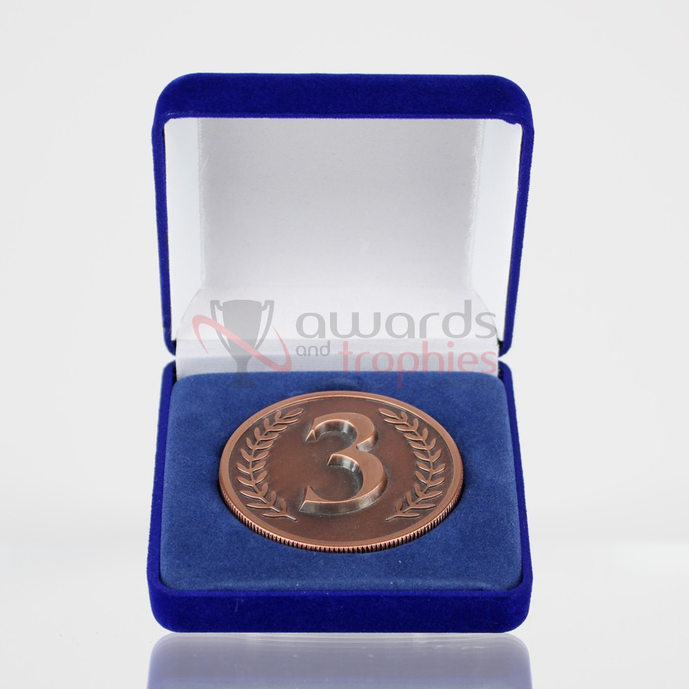 3rd Place Bronze Coin in Case