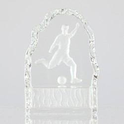 Soccer Crystal 110mm