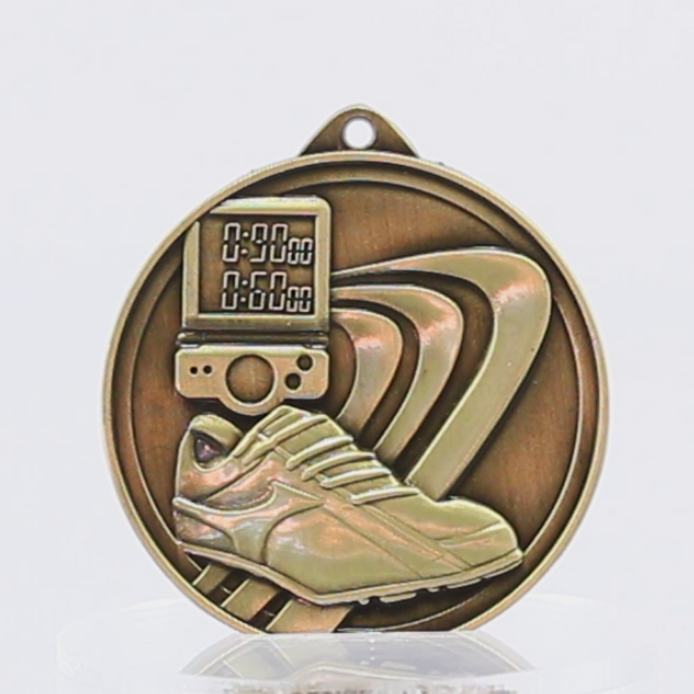 Embossed Athletics Medal 50mm