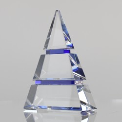 Phoenix Crystal Blue Pyramid