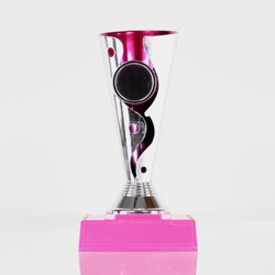 Carnival Cup Pink With Pink Base 160mm