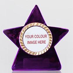 Metallic Star Pink 80mm