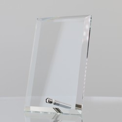 Clear Glass Rectangle 150mm