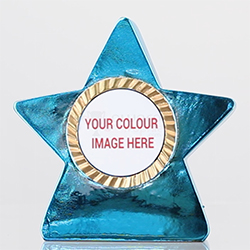 Metallic Star Blue 80mm