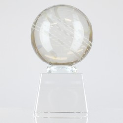 Crystal Cricket Ball 140mm