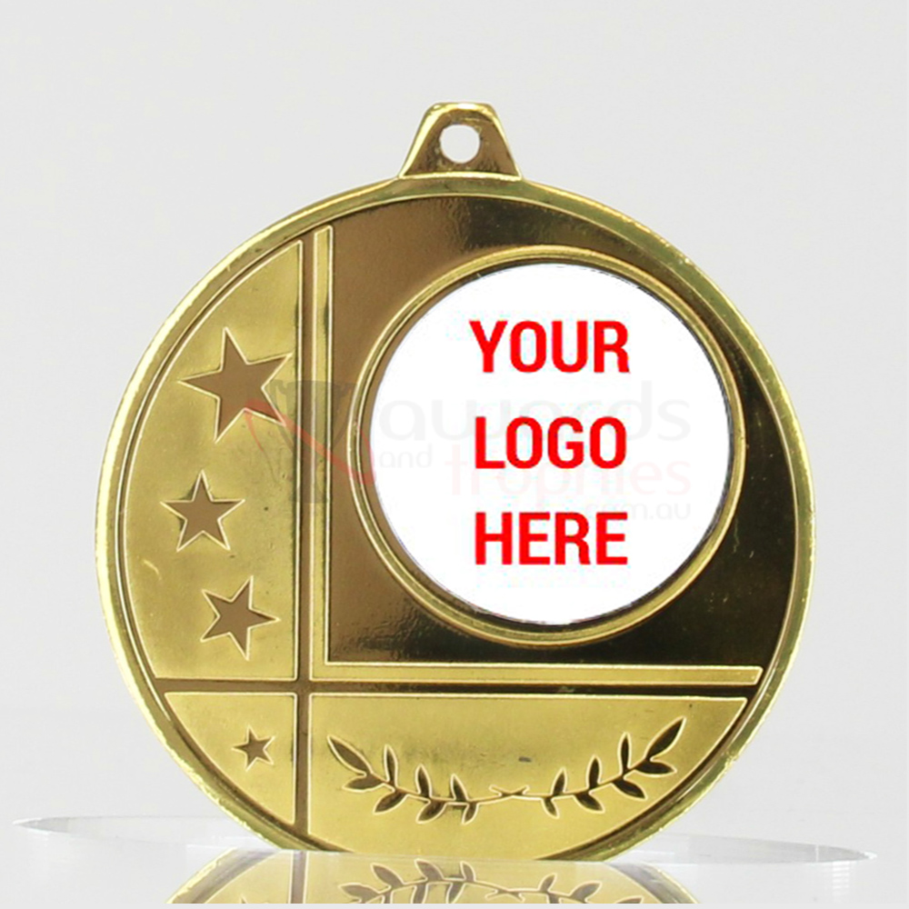 Glacier Personalised Medal 50mm