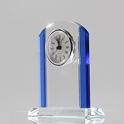 Renaissance Glass Clock 160mm