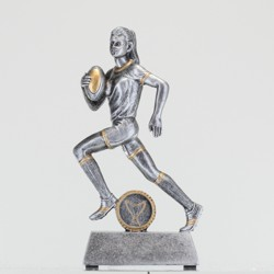 Female Rugby Action Hero 140mm