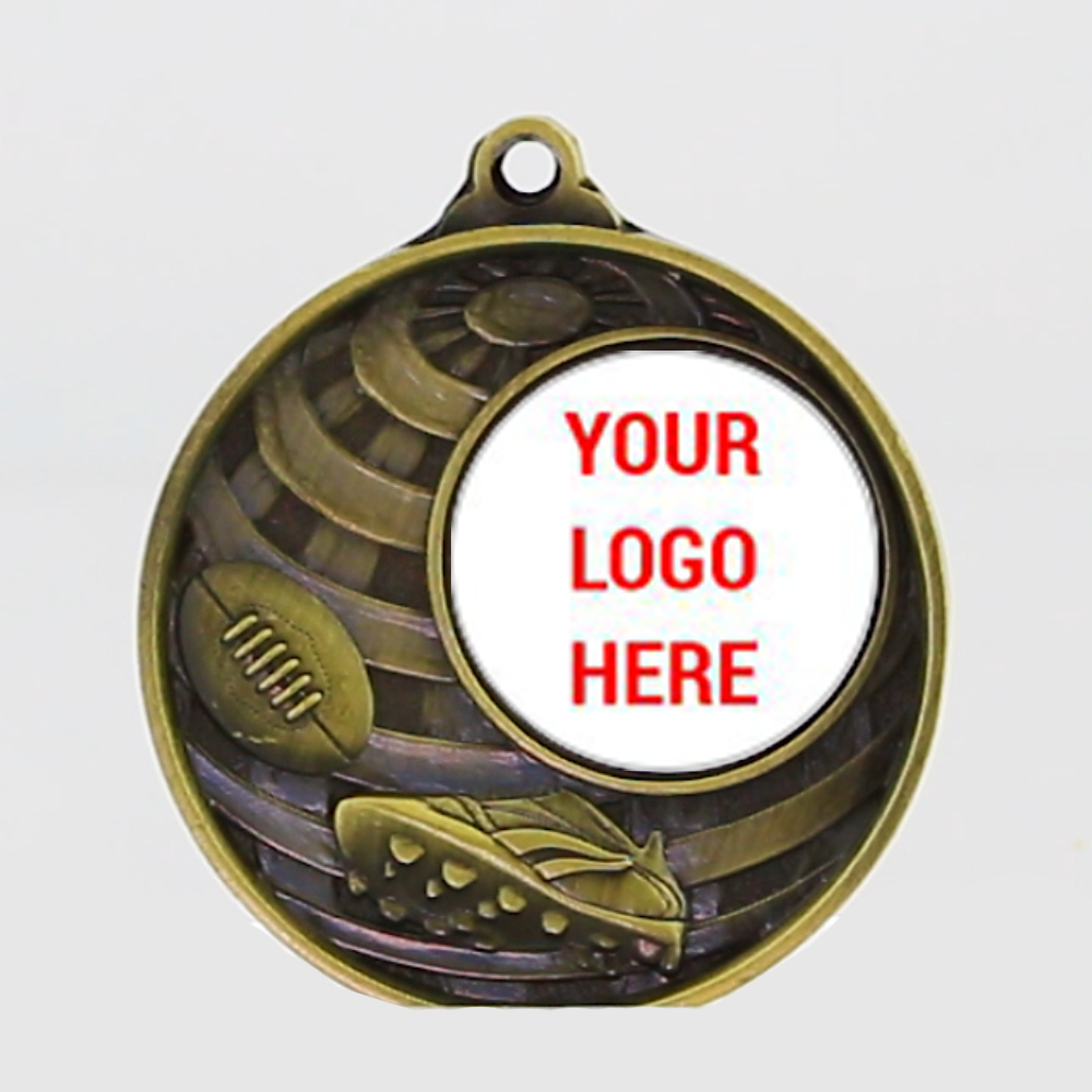 Global AFL Logo Medal 50mm